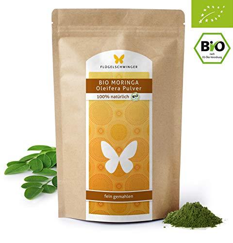 Unsere Empfehlung: 1kg Bio-Moringa-Pulver DE-ÖKO-012 aus jungen Blättern • Ohne Zusätze • Rohkostqualität • Schonende Verarbeitung bei niedrigen Temperaturen