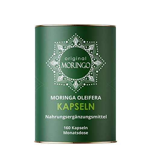 ORIGINAL MORINGO Premium Moringa Oleifera Presslinge   96g  240 Stück für 30 Tage   100% handverlesenes Blattpulver