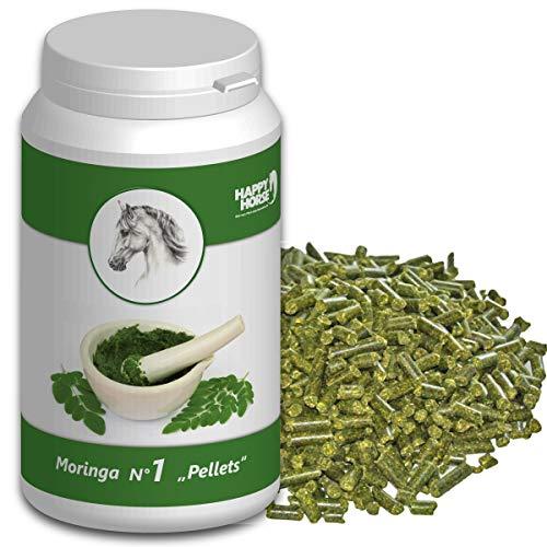 Unsere Empfehlung: Moringa Pellets für Pferde 750 g